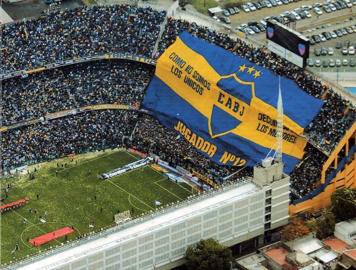 la Bombonera (Estadio Alberto J. Armando), home to Boca Juniors, Argentina