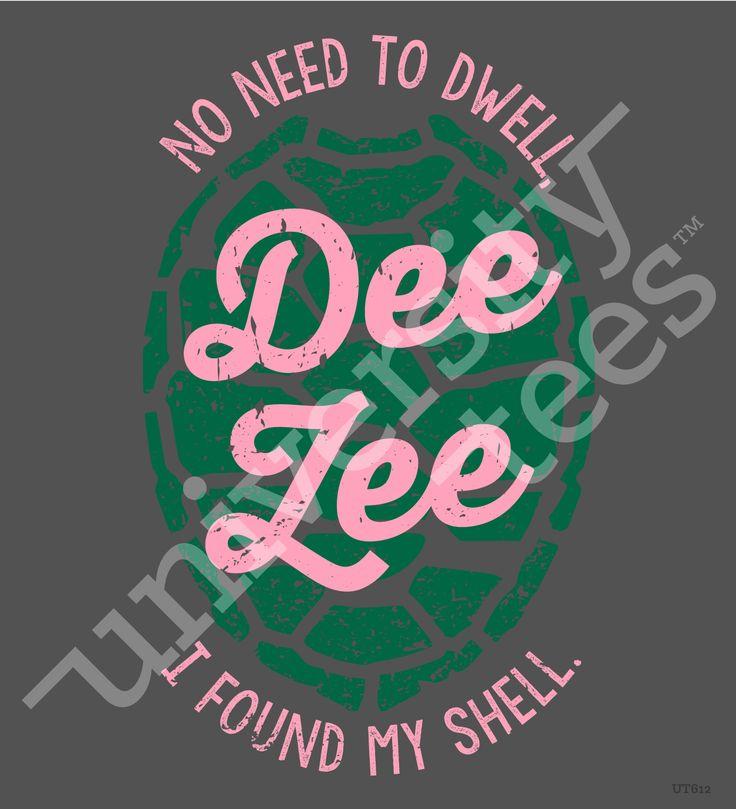 University Tees: Delta Zeta