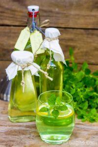 Selbstgemachter Zitronenmelisse-Sirup – erfrischend, aromatisch & gesund ♥ [Birgit D]