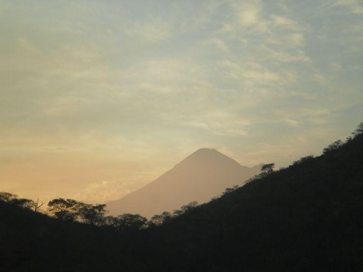Volcan de Colima Mexico