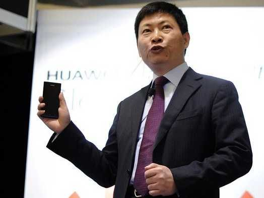 Huawei Boss Trashes Smartphone Rivals: Apple Is 'Slipping' And People Only Buy Samsung Phones Because Of Marketing