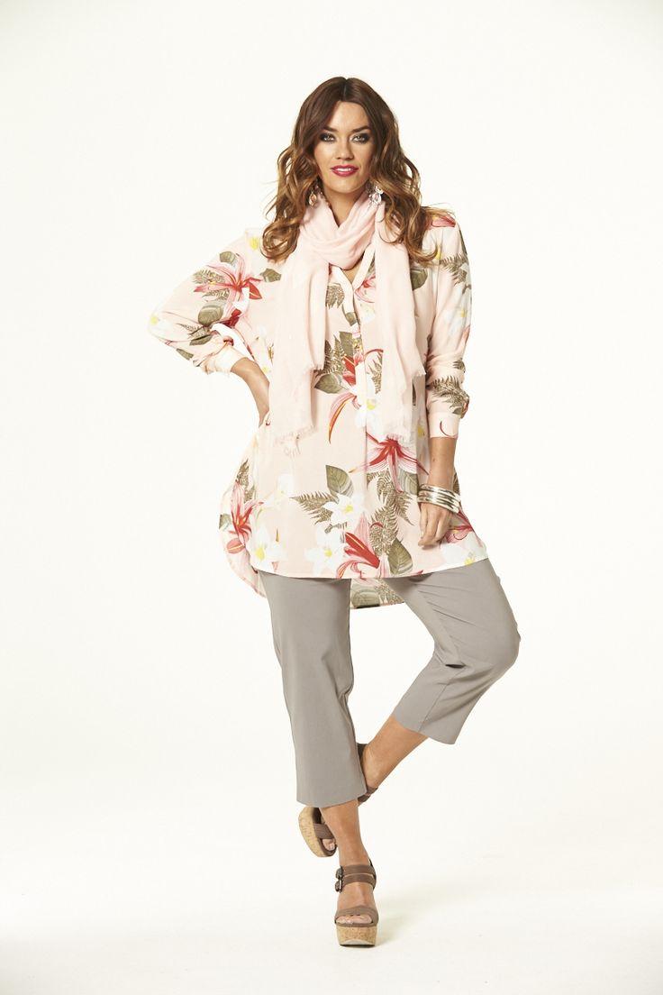 Peachy Kaftan  #mysize #plussize #fashion #plussizefashion #spring #newarrivals #outfit