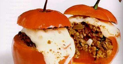 Peruvian Cuisine: Recipe: Rocoto relleno (Stuffed hot peppers)
