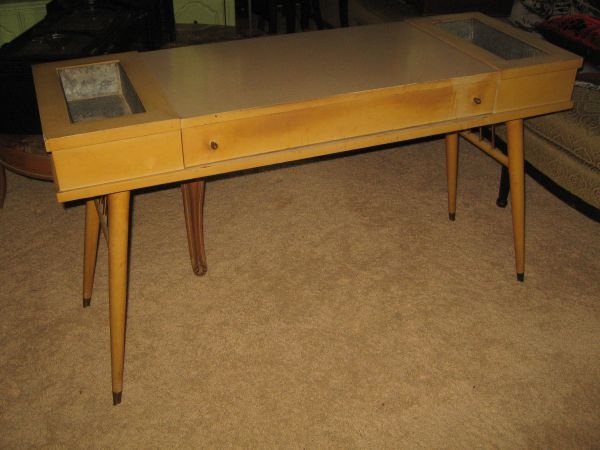 unique mid century modern vanity writing desk entry table 350