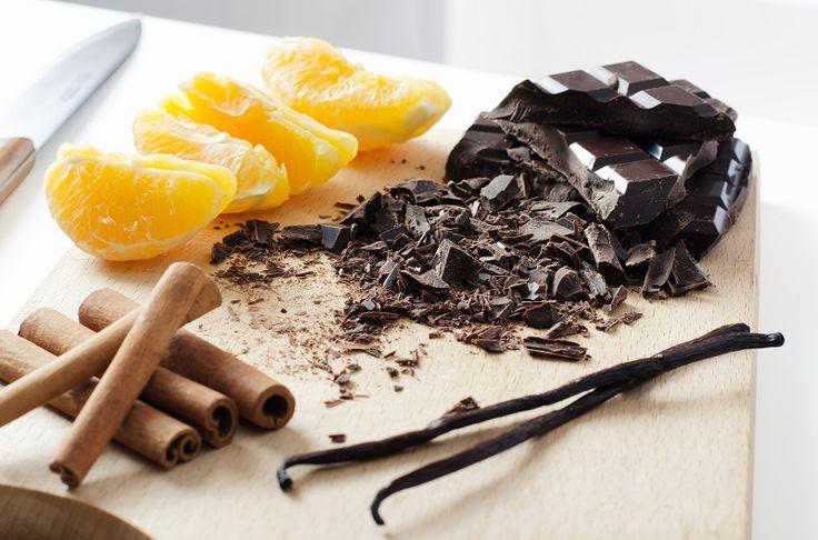 Pomarańcze w czekoladzie