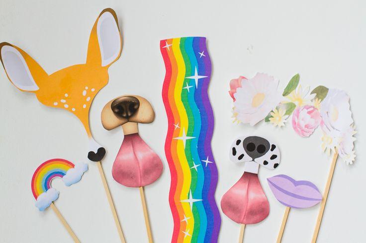 Snapchat-filter-fotomatón-props-libre-imprimible-descarga-dog-ciervo-arco iris-conejo-dálmata-wedding_-12
