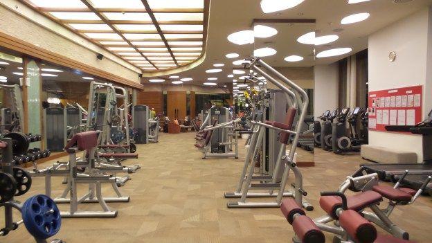 Fitness Centre at the Centara Grand Mirage Beach Resort Pattaya, Thailand