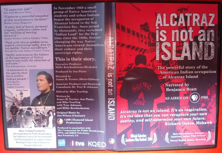 nice ALCATRAZ IS NOT AN ISLAND DVD John Trudell AMERICAN INDIAN MOVEMENT Russel Means   Check more at http://harmonisproduction.com/alcatraz-is-not-an-island-dvd-john-trudell-american-indian-movement-russel-means/