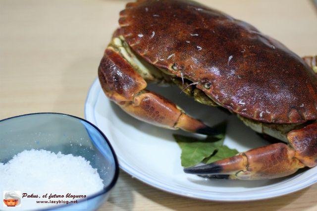 C mo cocer bien un buey de mar o una centolla pescados y - Como cocinar un buey de mar ...