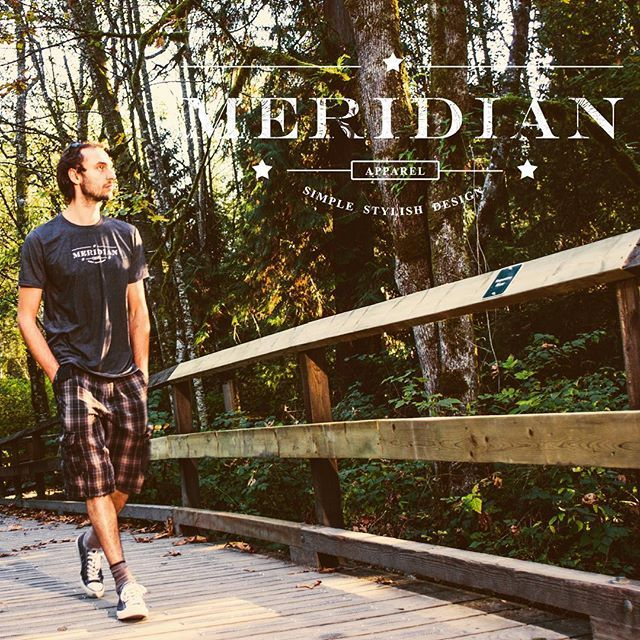 Wherever you go, take MERIDIAN with you! #travel #adventure #forest #tshirt #shopmeridianapparel