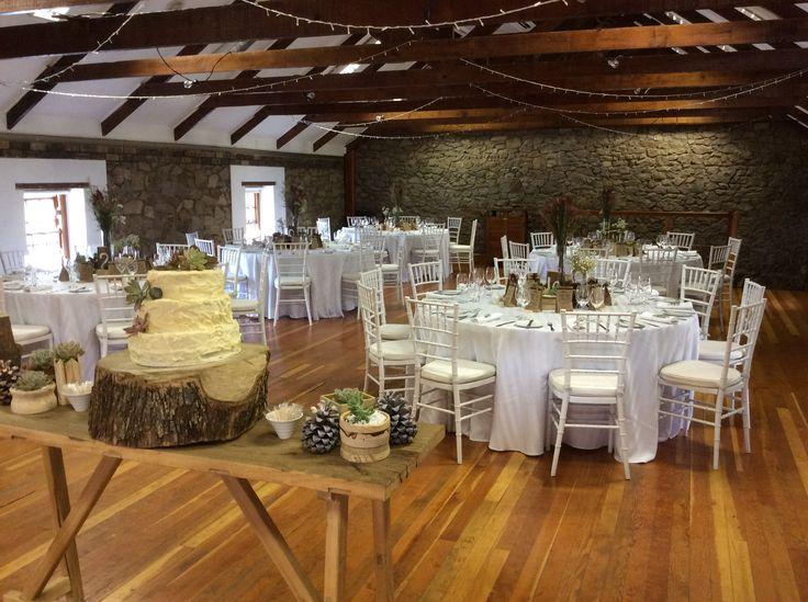 Beretun Hall - upstairs wooden hall