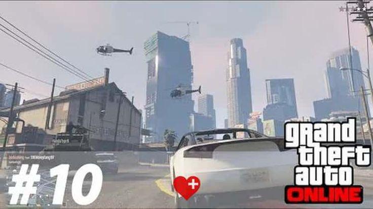 Der Tod kommt von ganz oben - GTA ONLINE #10 - Let's Play GTA Online mit Funky Pie (1080p 60fps)