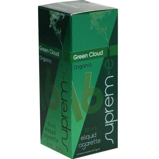 """GREEN CLOUD - The first of a brand new organic line of liquids: the perfume of a wisely extracted nature, herbaceous tastes which have been accurately selected bysome specialists of the herboristic field to create a natural, organic aroma with forbidden sensations. 12 ml Line """"I Dodici"""" - FLAVOURS & FRUIT FLAVOURED E-liquids for e-cigarette by Suprem-e  http://www.suprem-e.com"""