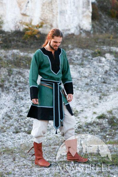 Medieval Flax linen Men's Tunic