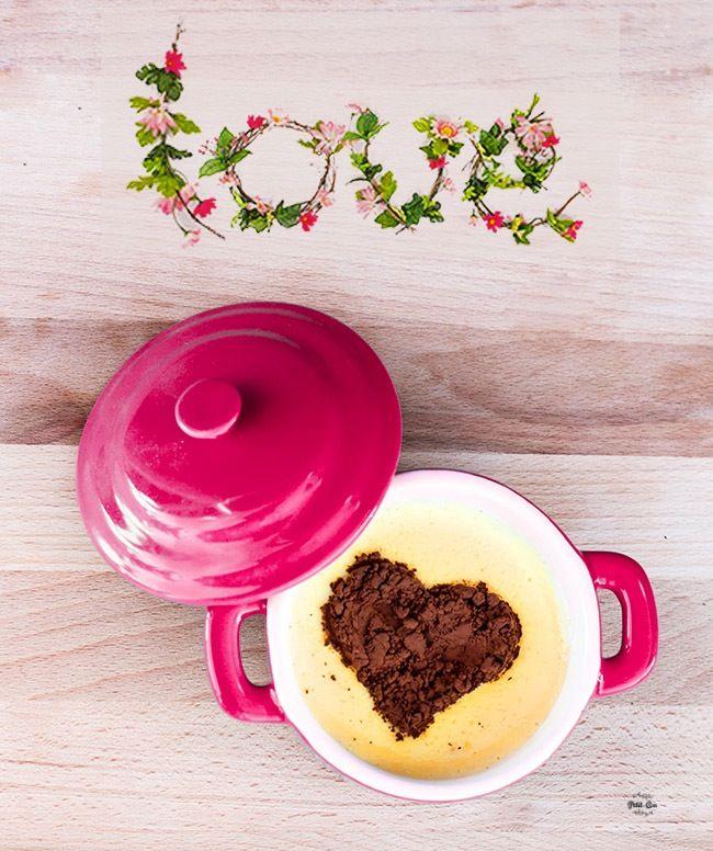 Receta para niños: Natillas amorosas San Valentín|http://petit-on.com