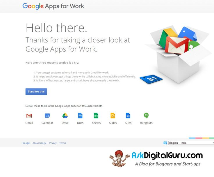 Are your emails reaching the recipients inbox. One simple step and you are secured. Google Apps for Work makes that happen and that too with great 20% OFF.