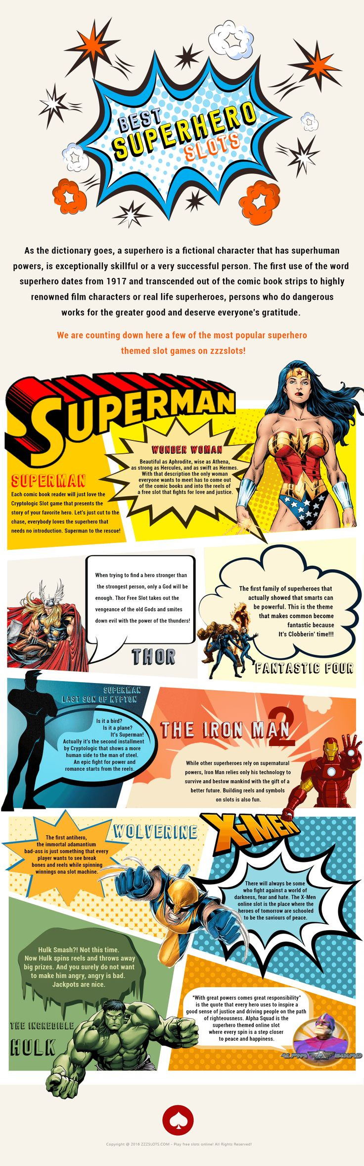 Our Superhero infographic has been featured on this wonderful site ! Enjoy !