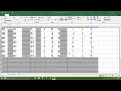 Microsoft Excel 2016 Tutorials | Find and Remove Duplicate Cells, Rows a...