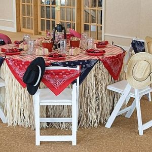 Wendy's Western Table, Western Table Decorations by Country Kaiser 94