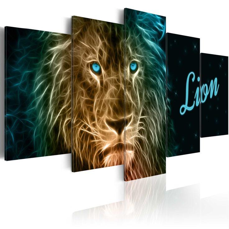 Votre intérieur est à 2 doigts de vous remercier  ---------------------------------------------------------------------  Tableau - 5 tableaux - Gold lion à 79,90€  sur https://www.recollection.fr/tableaux-animaux-animaux-divers/11032-tableau-gold-lion.html  #Animaux divers #mobilier #deco #Artgeist #recollection #decointerior #interiordesign #design #home  ---------------------------------------------------------------------  Mobilier design et décoration intérieure  www.recollection.fr