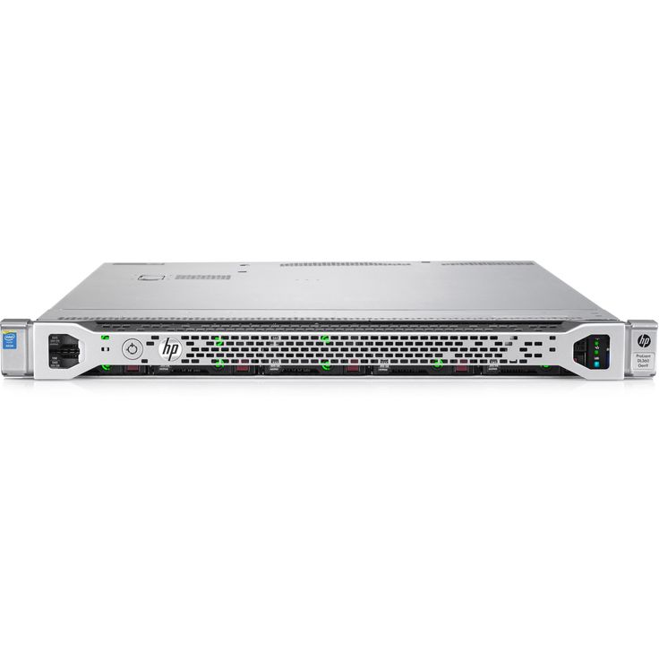 HP ProLiant DL360 G9 1U Rack Server - 1 x Intel Xeon E5-2603 v4 Hexa- #818207-B21