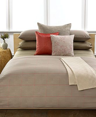 Calvin Klein Home Bedding, Zahara Neutral Collection - Designer Comforters - Bed & Bath - Macy's