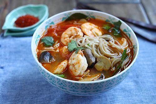 15-Minute Tom Yum Noodle Soup