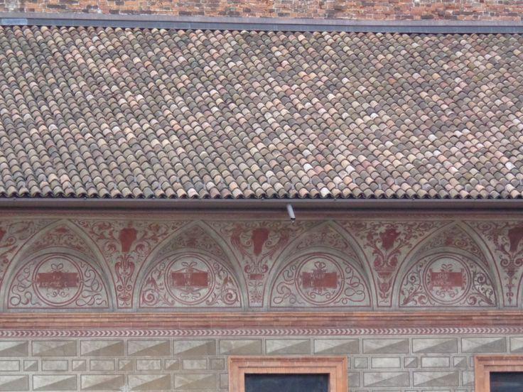 Frieze on Sforza Castle