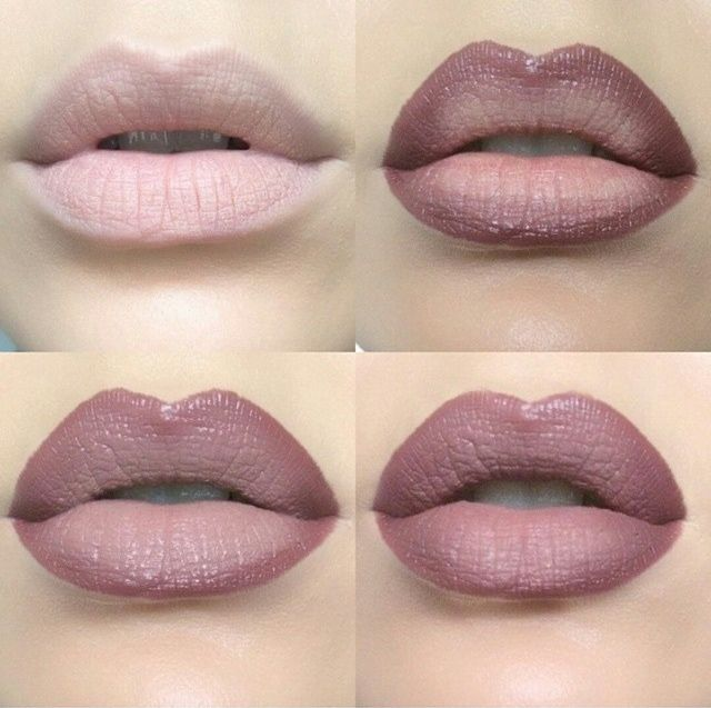 perfect mauve lip colour