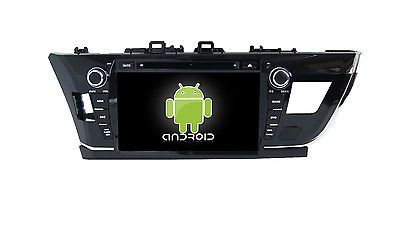 "9"" Android 6.0.1 Quad Core Car Dvd Gps Naivi Radio Tv Bt For Toyota Corolla 2015"