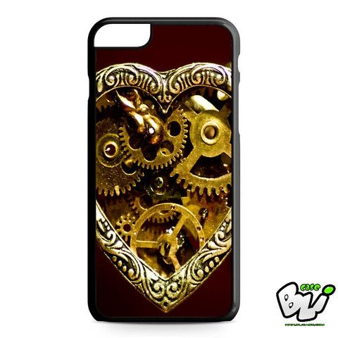 Steampunk Heart Gears iPhone 6 Plus Case | iPhone 6S Plus Case