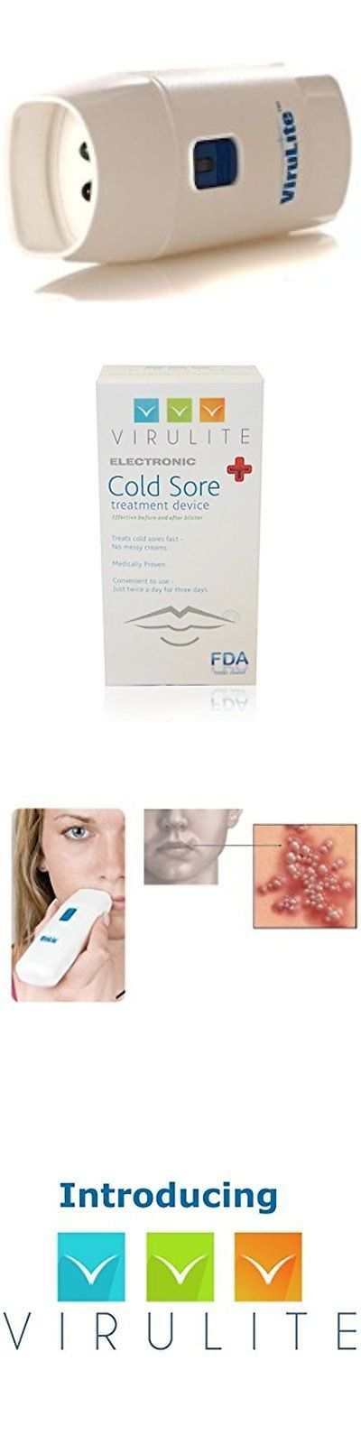 Cold Sores: Virulite Fda Cold Sore And Fever Blister Treatments Approved Electronic Cold Sore -> BUY IT NOW ONLY: $125.92 on eBay!