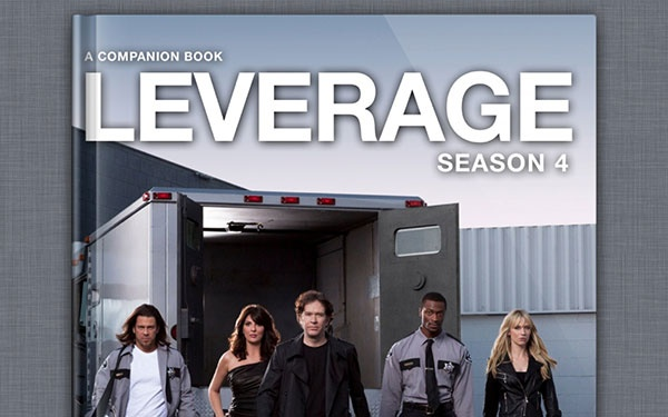 TNT's 'Leverage' Goes Interactive With New Companion Book