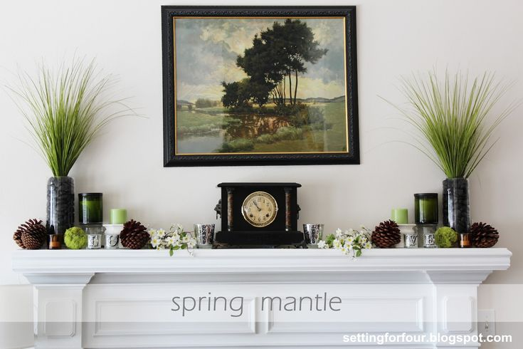 Decorating Ideas: Mantels, Mantles And Decorating