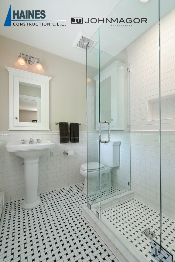 big changes in a small space bathroom floor