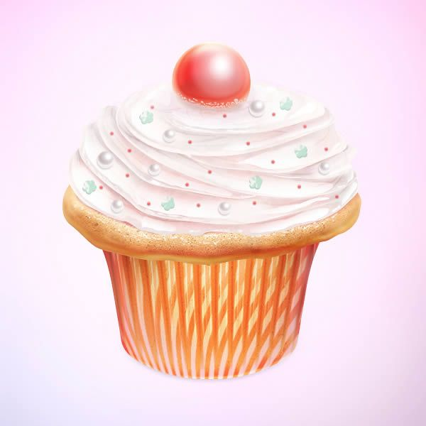 Create a Tasty Cupcake Icon in Photoshop - Tuts+ Design & Illustration Tutorial