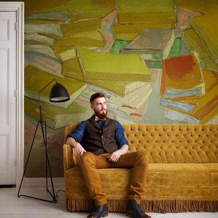 De collectie van Gogh is geïnspireerd op de bekende werken van Nederlands kunstschilder Vincent van Gogh. De moderne kunst in Parijs inspireerde Vincent om licht, helder en los te schilderen. Hij werd beroemd om zijn felle kleurcontrasten en expressionistische stijl van schilderen. #behang #wooninspiratie #design #wallpaper #BNwallcoverings #vanGogh