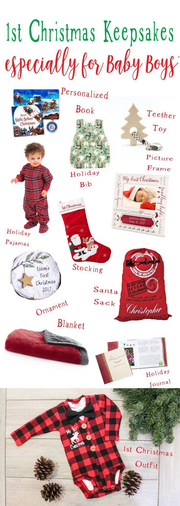 baby boy 1st christmas keepsake ideas