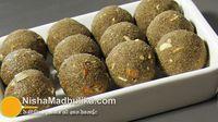 Millet Flour Laddu Recipe
