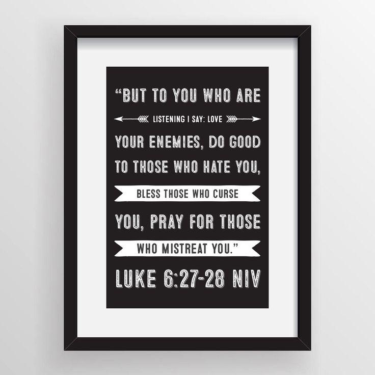 Luke 6:27-28 NIV