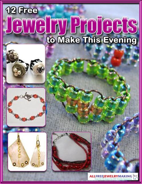 21 best jewelry making books images on pinterest diy jewelry 12 free jewelry projects to make this evening ebook fandeluxe Images