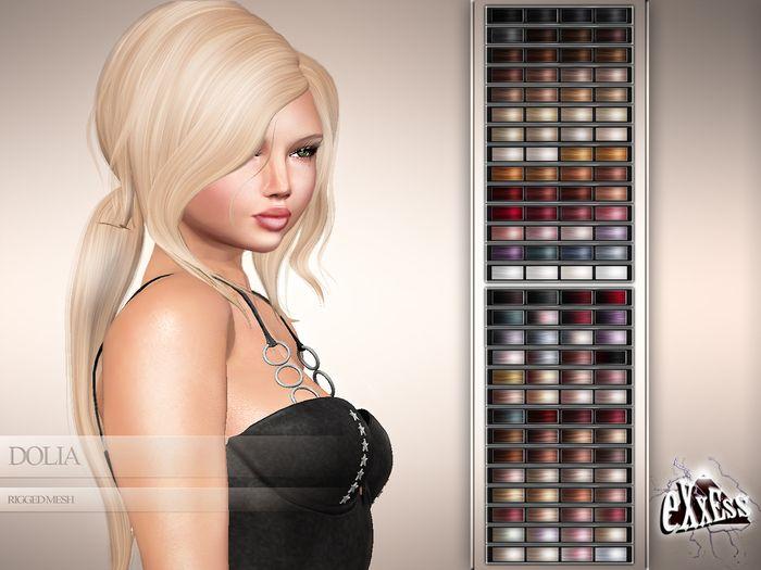 eXxEsS : Dolia Mesh Hair – Demo