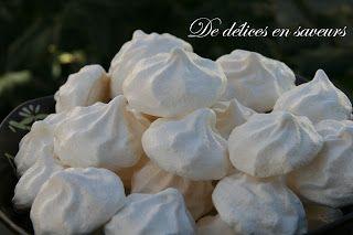 """De délices en saveurs: Meringues """"cassantes"""" en bouche"""