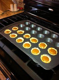 Mini Sweet Potato Pie Treats!