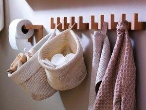 Almacenaje para baños pequeños