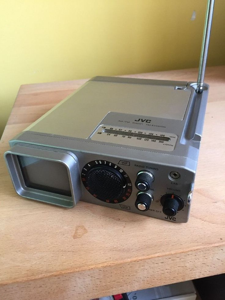 JVC, P-100EUC, AM/FM-Radio Television | eBay