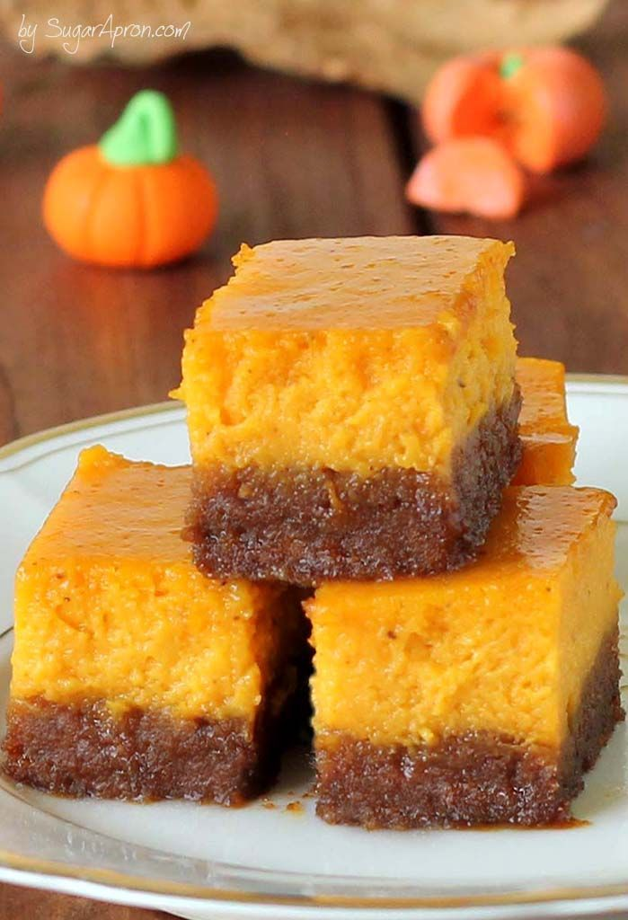 Instead of pumpkin pie this season, try this gingersnap pumpkin pie bites.