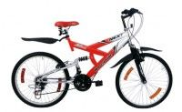 "Rs 5999 for HERO 26"" MTB with 18 Shimano Gears. Valid at all super markets in Surat, Chennai and Ahmedabad."