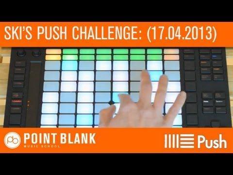 Ableton Push Challenge with Ski Oakenfull: Part 1 - (17.04.13) - YouTube