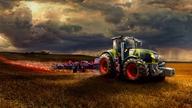 Devil Tractor, Photoshop, Graphics